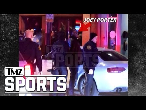 Joey Porter Arrest Video ... Handcuffed, Jawing at Cops | TMZ Sports