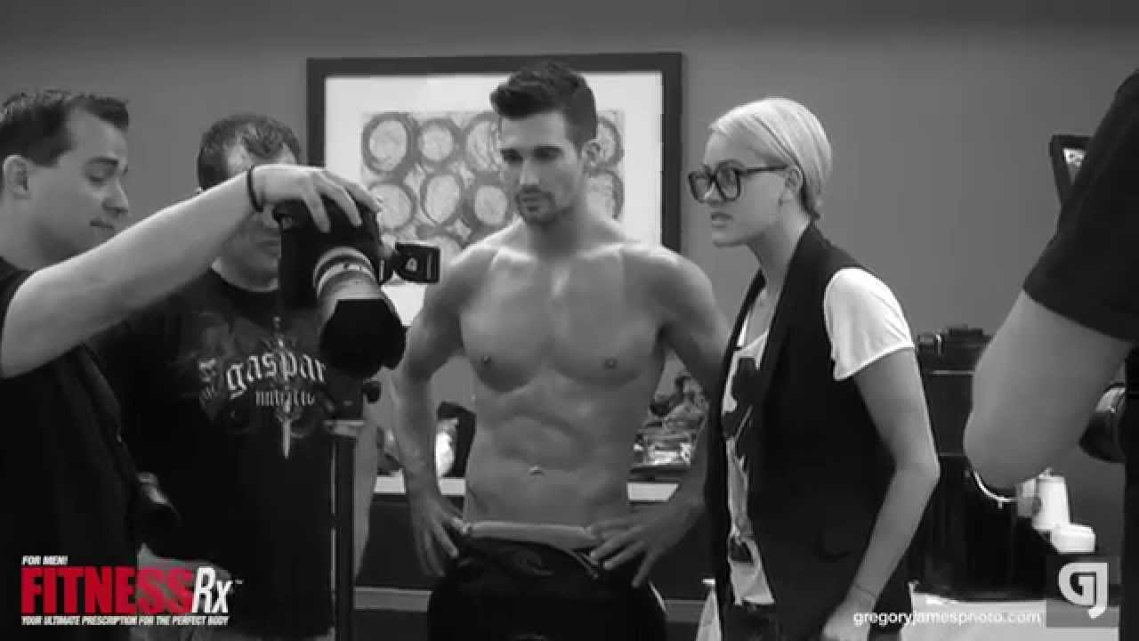 Gregory James BTS Fitness Shoot | James Maslow Cover-Shoot