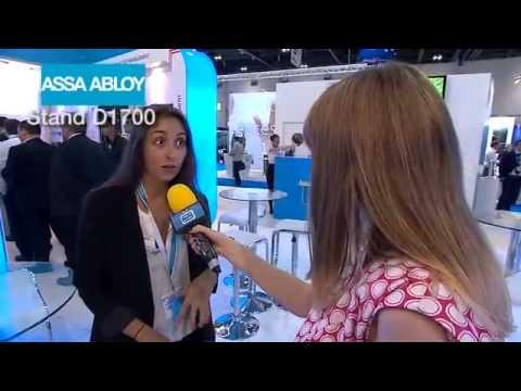 Assa Abloy's Adriana Fernandez live on IFSEC TV 2014