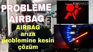 airbag arıza sorunu nasıl söndürülür tutto répare problème voyant airbag reset BECERI TV