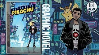 Detective Pikachu Graphic Novel Announced @ ECCC