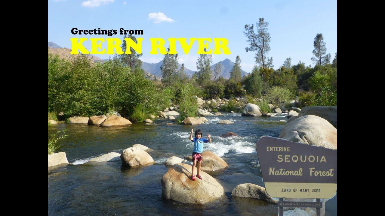 Kern river camping fishing rafting youtube for Kern river fishing spots
