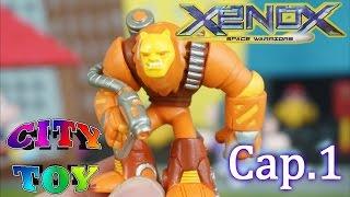 Xenox Space Warriors Revista + Guía + sobres sorpresas Cap.1