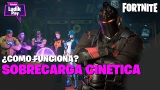 CYNETIC OVERLOAD HOW DOES IT WORK? FORTNITE SAVE THE WORLD SPANISH GUIDE