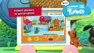 Learning Time with Timmy Pack - Apps for kids to learn English