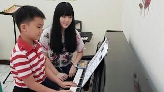 cara bermain piano dasar dan basic not balok kelas musik