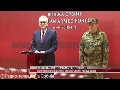 Hahn: Serbia dhe Kosova të ecin përpara, mos minojnë dialogun - News, Lajme - Vizion Plus