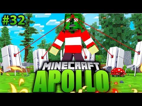 ICH Vs. 100 TURRETS VON FLO?! - Minecraft Apollo #32 [Deutsch/HD]
