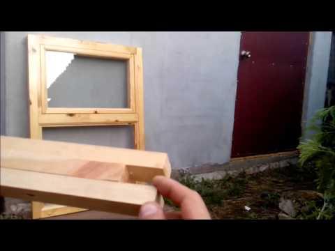 Самодельное окно 2