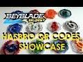 Beyblade Burst by Hasbro QR Codes Showcase - Shared by Zankye