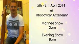 Scott Darlow in Malaysia 2014 - 5th and 6th April @ Broadway Academy
