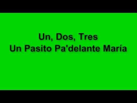 Ricky Martin - María Un, Dos, Tres Lyrics/Letras