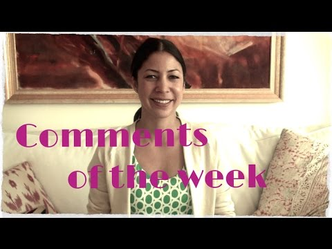 Comments of the Week: Writing Routine, My Hostess Horror Story, Dressing Well
