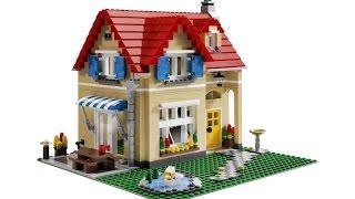 Как сделать лего дом