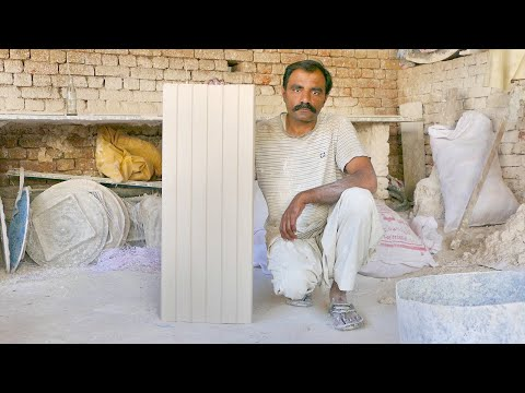 Quick & Beautiful Plaster (Gypsum) Sheets Making Technique