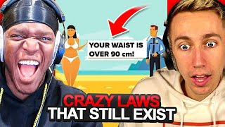 SIDEMEN REACT TO CRAZY LAWS THAT STILL EXIST