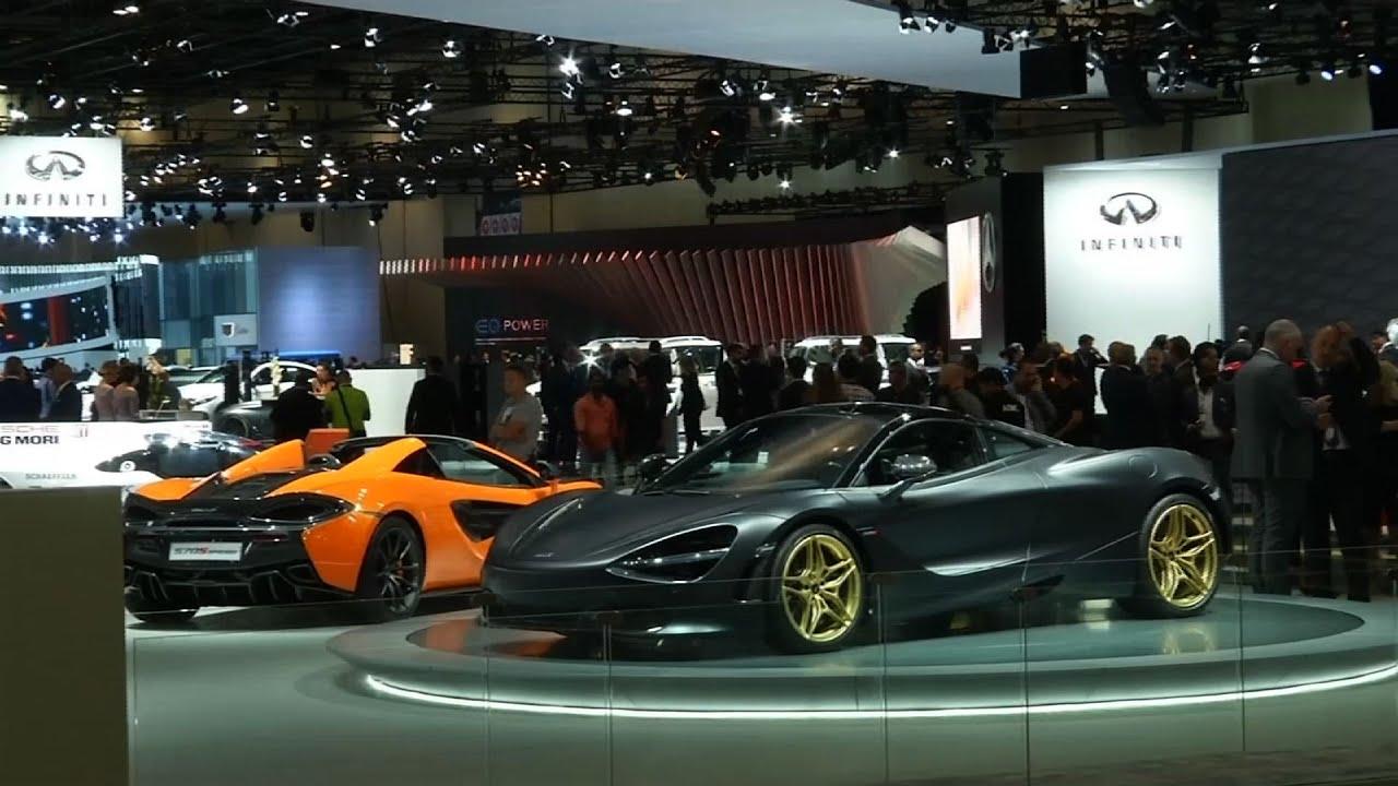 New Luxury Cars Revealed At Dubai Motorshow Youtube