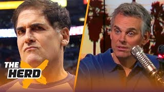 Colin Cowherd on Dallas Mavericks' scandal: 'I don't buy it that Mark Cuban didn't know' | THE HERD