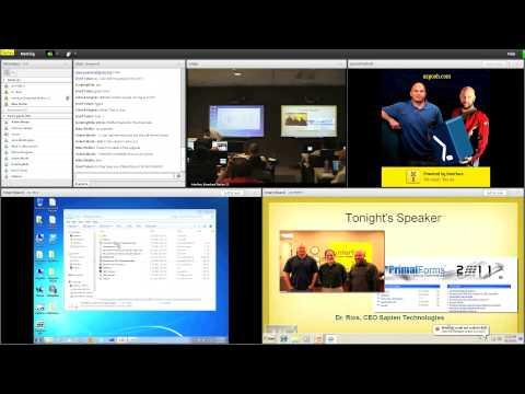 Arizona Windows PowerShell User Group meeting August 3, 2011 at Interface Technical Training part 1