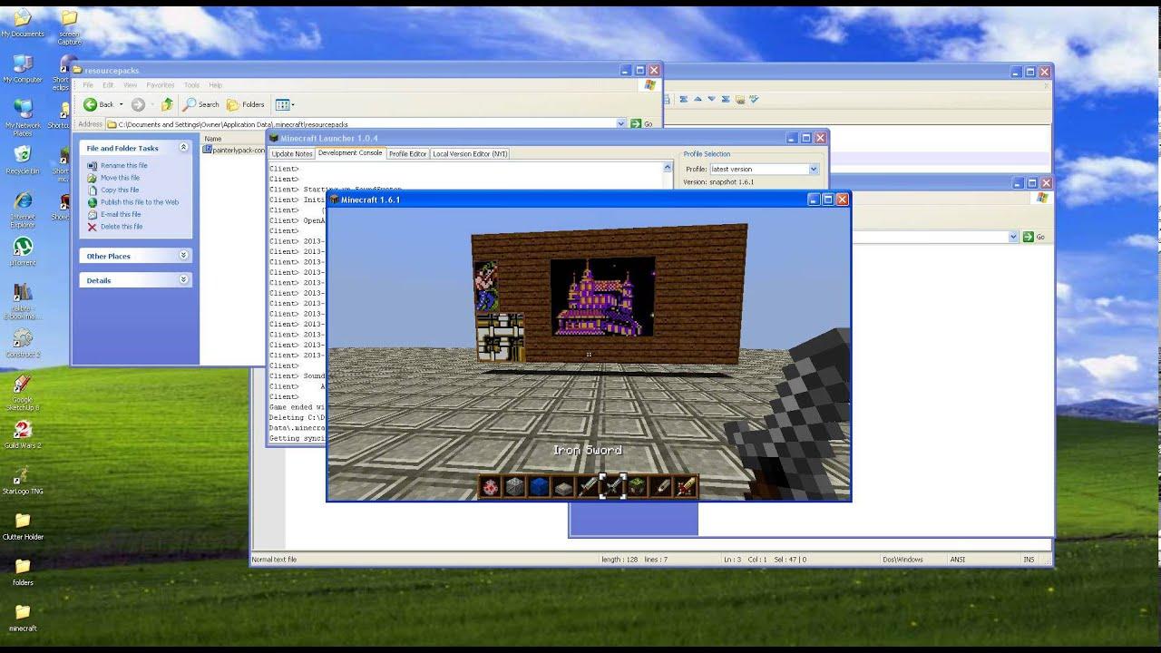 Minecraft: Texture Packs installieren
