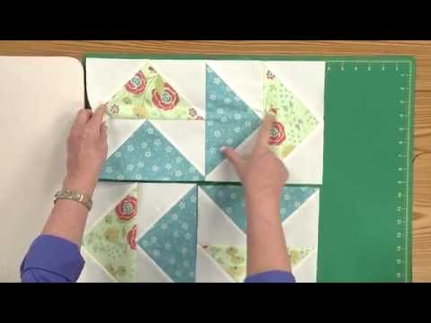How To Make The Flight Pattern Quilt