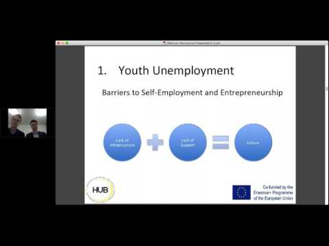 Creating a HUB for Young Entrepreneurs Webinar
