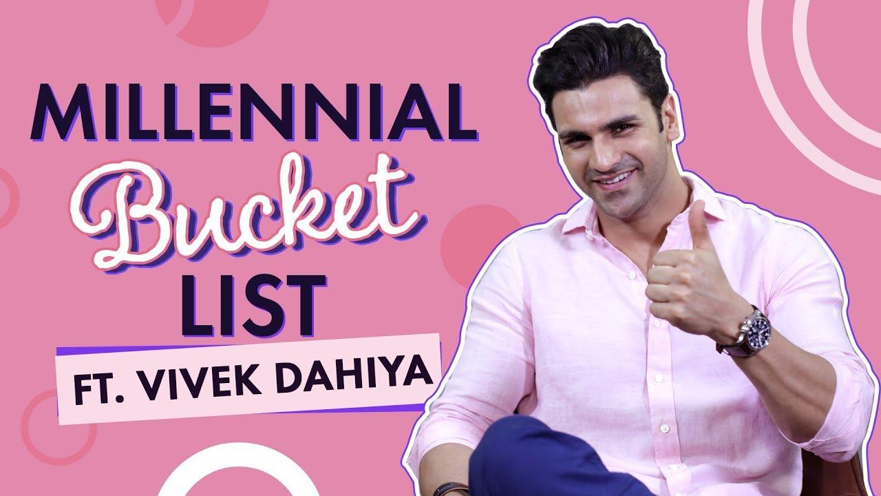 Vivek Dahiya ticks off Taimur Ali Khan, Diet Sabya and more in our Millennial Bucket List | S1E01