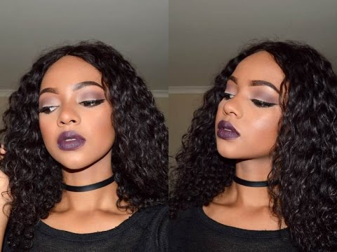 Smoked Purple Makeup Tutorial | Mihlali N