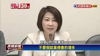 韓國瑜招商「陪睡說」 綠委怒斥:不入流-民視新聞