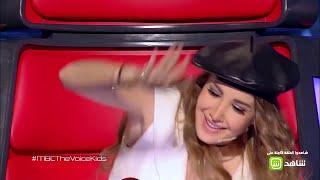 """خالد الفايد يبهر الجميع بأداءه لأغنية """"سهرت الليل"""" لـ """"جورج وسوف"""" في #MBCTheVoiceKids"""