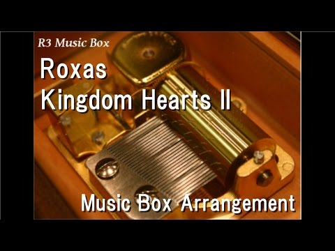 RoxasKingdom Hearts II  Box