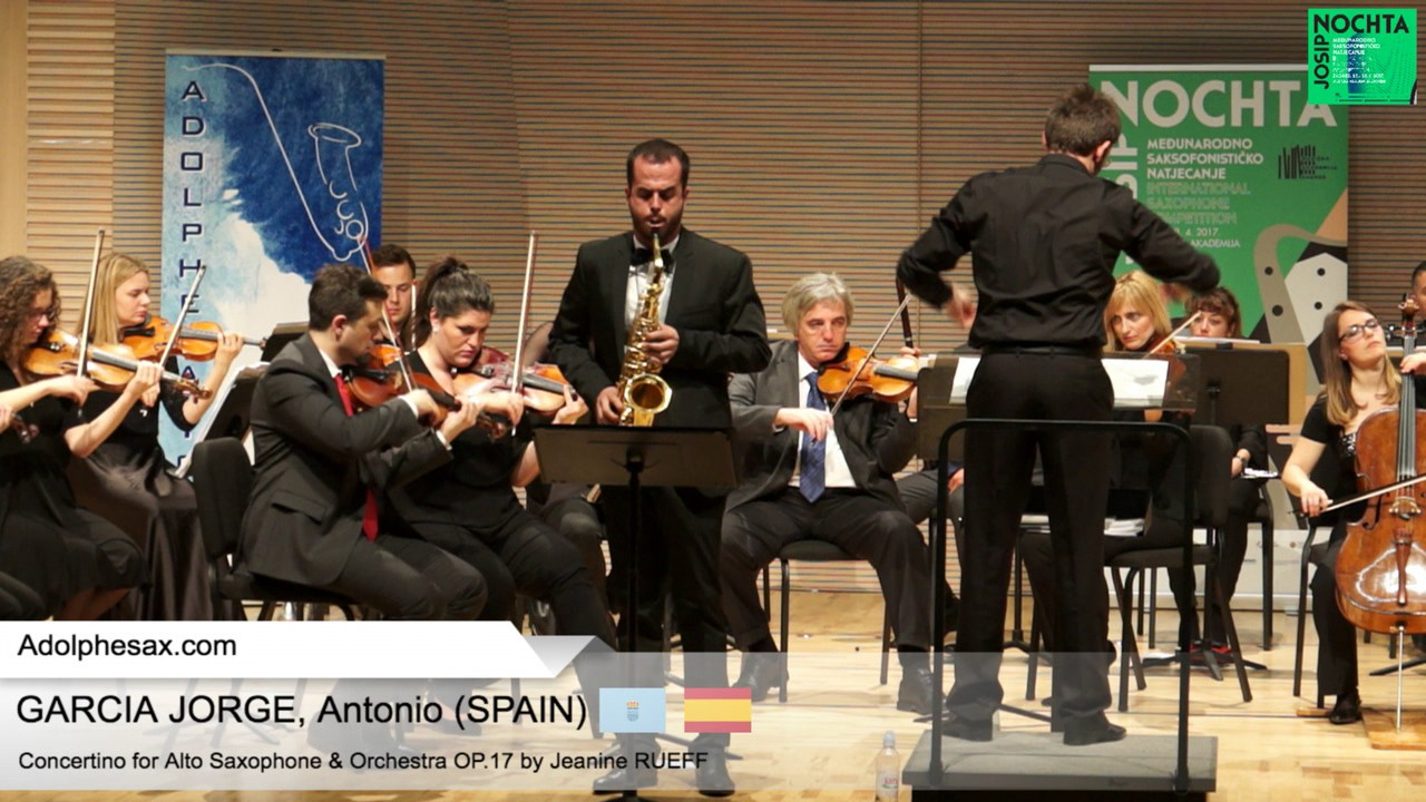 Antonio GARCIA JORGE Spain   Concertino by Jeanine RUEFF
