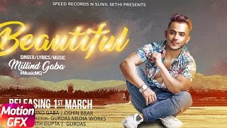 Motion Poster | Beautiful | Millind Gaba | Oshin Brar | Full Song Coming Soon | Speed Records