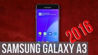 Распаковка Samsung Galaxy A3 2016