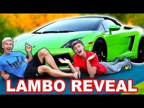 LAMBORGHINI NAME REVEAL!!