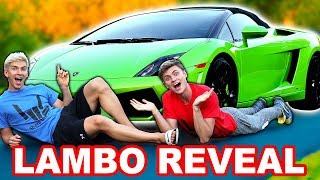 LAMBORGHINI NAME REVEAL!!