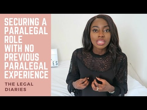 How I secured a paralegal role with no previous paralegal experience | The legal diaries