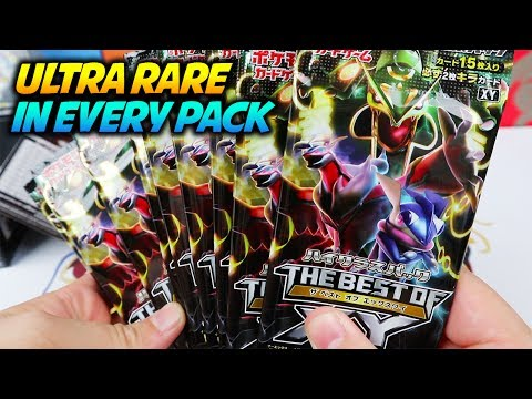 THE BEST OF XY - ULTRA RARE IN EVERY PACK! Pokemon Card Opening