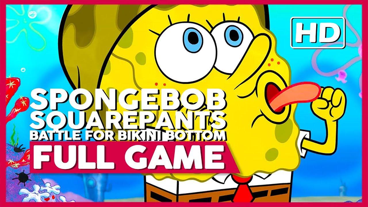 SpongeBob: Battle for Bikini Bottom (Rehydrated)    Full Playthrough   No Commentary [PC] (60FPS)