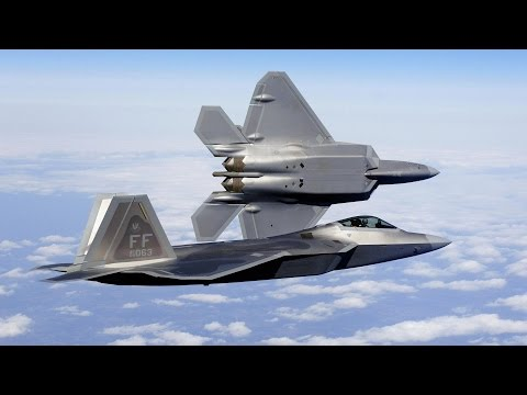 F-22 Raptor Stealth Tactical Fighter USAF 2017