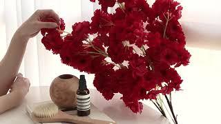 벚꽃 인테리어 대형 긴가지 조화꽃