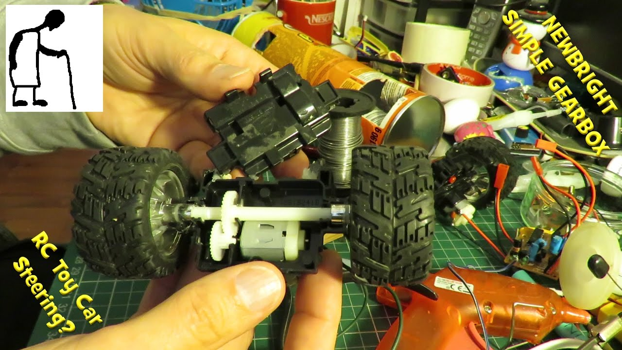 hight resolution of rc toy car newbright simple gearbox