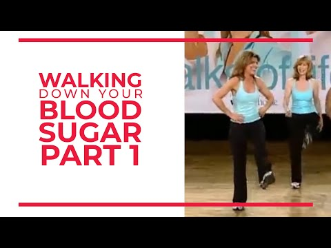 Walking Down Your Blood Sugar (Part 1)   Walk At Home Fitness Videos