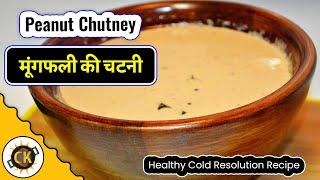 Peanut Chutney   Lip Smacking Easy Recipe By Chawla's Kitchen Episode #261