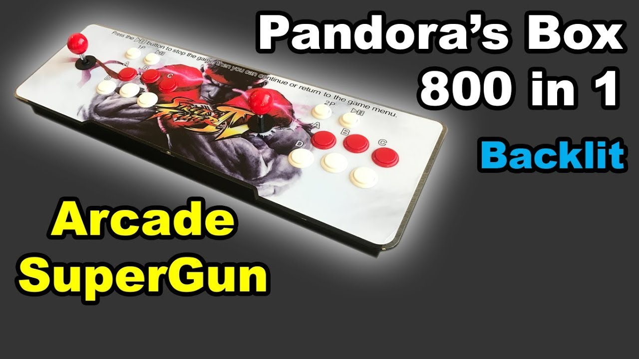 Pandora's Box Arcade SuperGun Button and Joystick Upgrades: 6 Steps