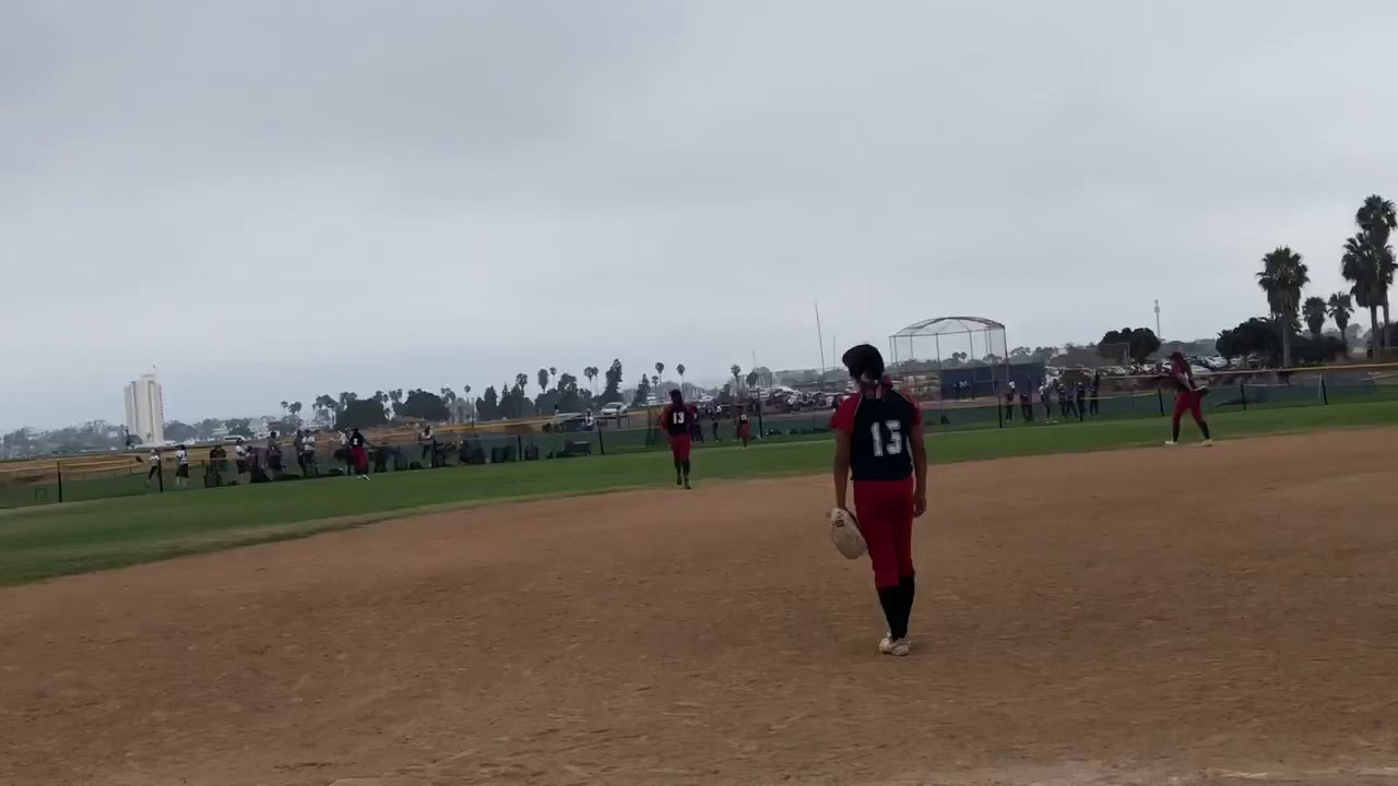 "Sac Hitterz ""Arianna with the triple in San Diego's showcase by the sea 2019"""