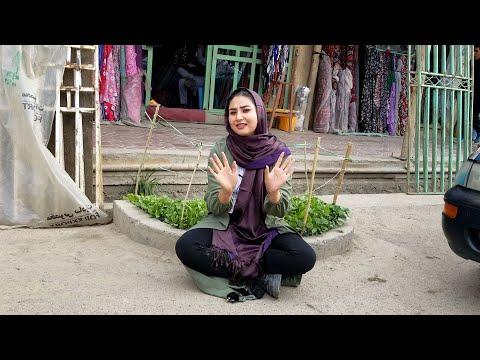 چهار راهی بازار و جاده نو بامیان Bamyan Afghanistan