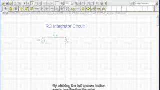RC متكامل (إنشاء الدوائر ، AC عابرة تحليل)
