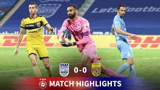 Highlights - Mumbai City FC 0-0 Hyderabad FC - Match 60 | Hero ISL 2020-21