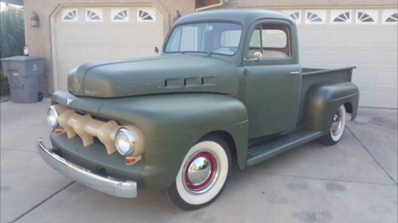 Craigslist Classic Car Of The Day 1951 Ford F 1 Pickup Cool Custom